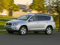 Clean CARFAX.  This 2009 Toyota RAV4 Limited 4WD at