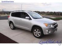 2009 Toyota RAV4 Limited. 6 Cylinder, Automatic. Silver