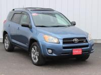 Options:  2009 Toyota Rav4 Sport|Blue|Accident Free