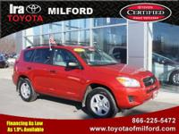 Ira Toyota of Milford presents this CARFAX 1 Owner 2009