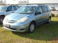 FULLY SAFETY INSPECTED, Sienna LE, 4D Passenger Van,
