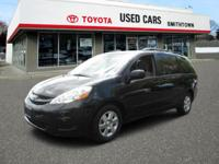 LOW MILES, This 2009 Toyota Sienna LE will sell fast