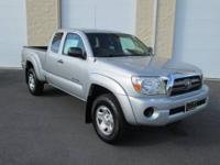 CARFAX 1-Owner. 12000 Mile Warranty. Tacoma trim. EPA
