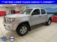 ONE OWNER, CLEAN CARFAX, BED LINER, Tacoma PreRunner