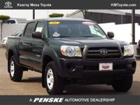 Toyota Certified, 4D Double Cab, 4.0L V6 SMPI DOHC,