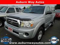 This Toyota Tacoma has a powerful Gas I4 2.7L/164