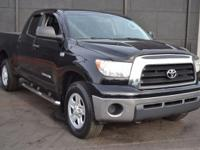 This 2009 Toyota Tundra 4dr - features a 4.7L V8 DOHC