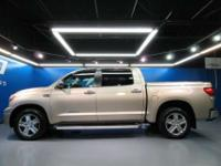 * Loaded! This 2009 Toyota Tundra Limited Crewmax two