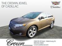 Venza trim. JUST REPRICED FROM $11,995. CARFAX 1-Owner,