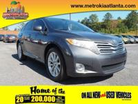 For a smoother ride, opt for this 2009 Toyota Venza FWD