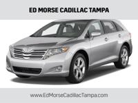 CARFAX One-Owner. Clean CARFAX. White 2009 Toyota Venza