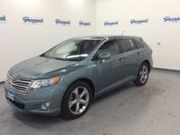 CARFAX 1-Owner. Venza trim. IIHS Top Safety Pick,