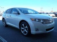 THIS VENZA IS CERTIFIED! CARFAX ONE OWNER! MP3 CD