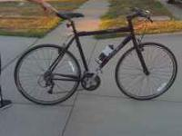 57cm, 22.5 inch, deore shimano components. This is a