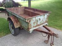 Very clean 2009 Triton Aluminum TC11 8 x 11 Trailer: