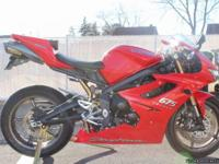 2009 Triumph Daytona 675. This bike has been