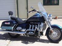 2009 Triumph ROCKET III, 15725 miles, No dings,dents,or