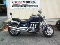 Make: Triumph Mileage: 18,200 Mi Year: 2009 Condition:
