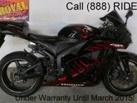 2009 Used CBR600RR Crotch Rocket For Sale-U1862 with