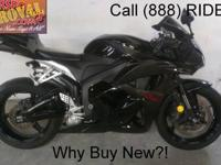 2009 used Honda CBR600RR crotch rocket for sale and