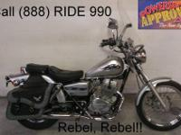 2009 used Honda Rebel 250 cc motorcycle for sale-U1460