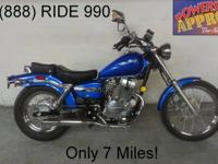 2009 used Honda Rebel 250 cc motorcycle for sale - only