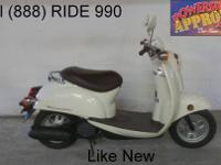2009 used Honda scooter for sale with only 369 miles!