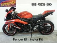 2009 used Suzuki GSXR600 for sale in Metallic Orange.
