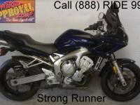 2009 used Yamaha FZ6 motorcycle for sale with only
