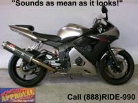 2009 Used Yamaha R-6 Sport Bike - For sale with only