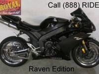 2009 used Yamaha R1 crotch rocket for sale with a full