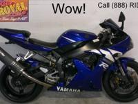 2009 Used Yamaha R1 Sport Bike For Sale-U1919 with only