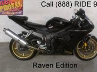 2009 used Yamaha R6 sport bike for sale with a full