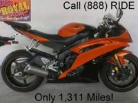 2009 used Yamaha R6 sport bike for sale with only 2,975