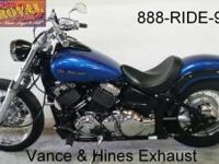 2009 utilized Yamaha VStar 650 Bobber motorcycle for