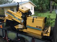 2009 Vermeer SC352 Stump Cutter & & Grinder. 2009
