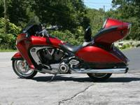 2009 Victory Vision 10th Anniversary Model.Only 100 of