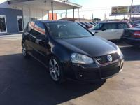 2009 VW GTI Powered 2.0 L Turbo Engine 6 Speed Manual