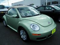 New In Stock!!! This Green 2009 Volkswagen New Beetle