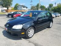 New Price! Black 2009 Volkswagen Rabbit S Priced below