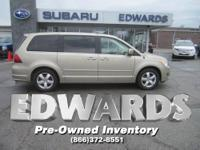 Our 2009 Routan is Volkswagen's answer to the minivan,