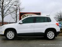 ONE OWNER FRONT WHEEL DRIVE VW TIGUAN WITH A CLEAN