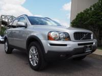Clean CARFAX. Silver 2009 Volvo XC90 3.2 AWD 6-Speed