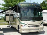 Winnebago's TOP OF THE LINE gas motorcoach. The 2009