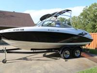 2009 Yamaha Boats AR 210 Boat is located in Mena,