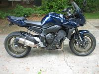 2009 Yamaha FZ1, approx 8600 miles and rising as I ride