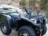This is a very nice 2009 Yamaha Grizzly 700 EPS. It is