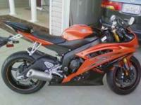 Description I have a just purchased yamaha R6 that i