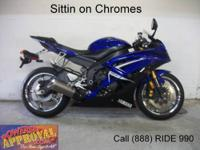 2009 Yamaha R6 Crotch Rocket For Sale-U1774 with only