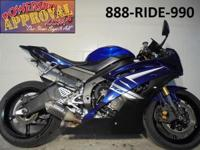 2009 Yamaha R6 crotch rockets only $7999! GYTR exhaust,